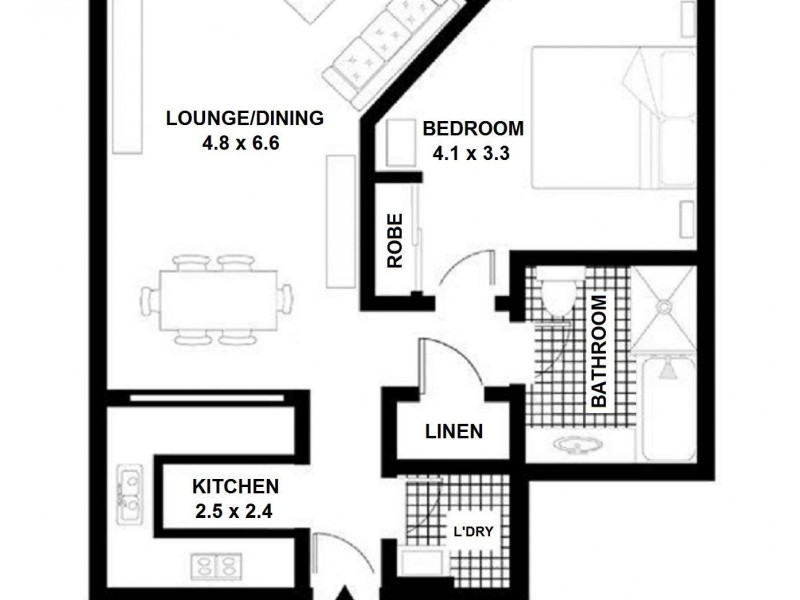 98 Gloucester Street, Sydney NSW 2000 Floorplan
