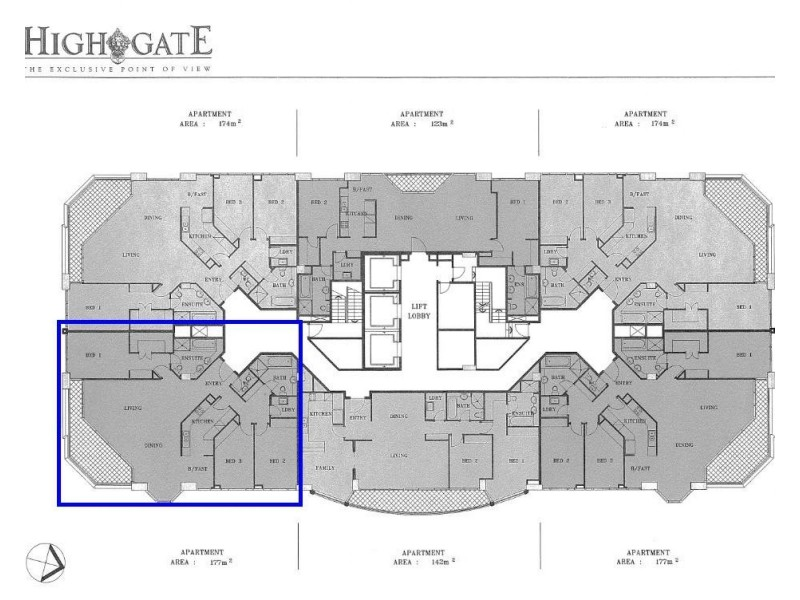 127 Kent Street, Sydney NSW 2000 Floorplan