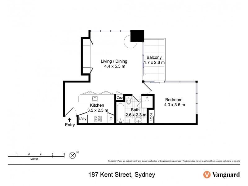 187 Kent Street, Sydney NSW 2000 Floorplan