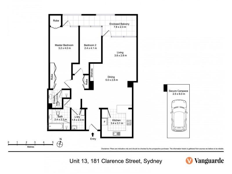 13/177-181 Clarence Street, Sydney NSW 2000 Floorplan