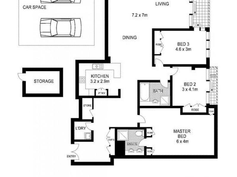 168 Kent Street, Sydney NSW 2000 Floorplan