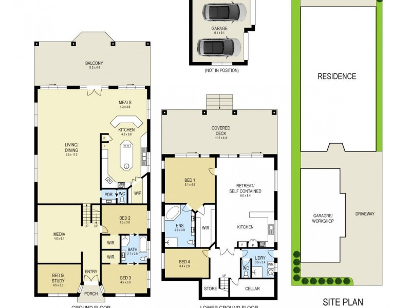 31 Dobell Drive, Wangi Wangi NSW 2267 Floorplan