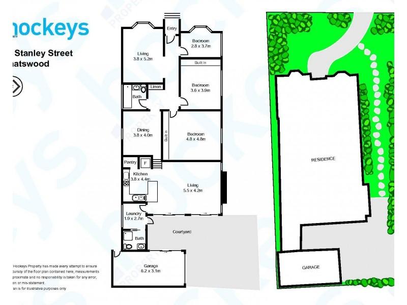 15 Stanley Street, Chatswood NSW 2067 Floorplan