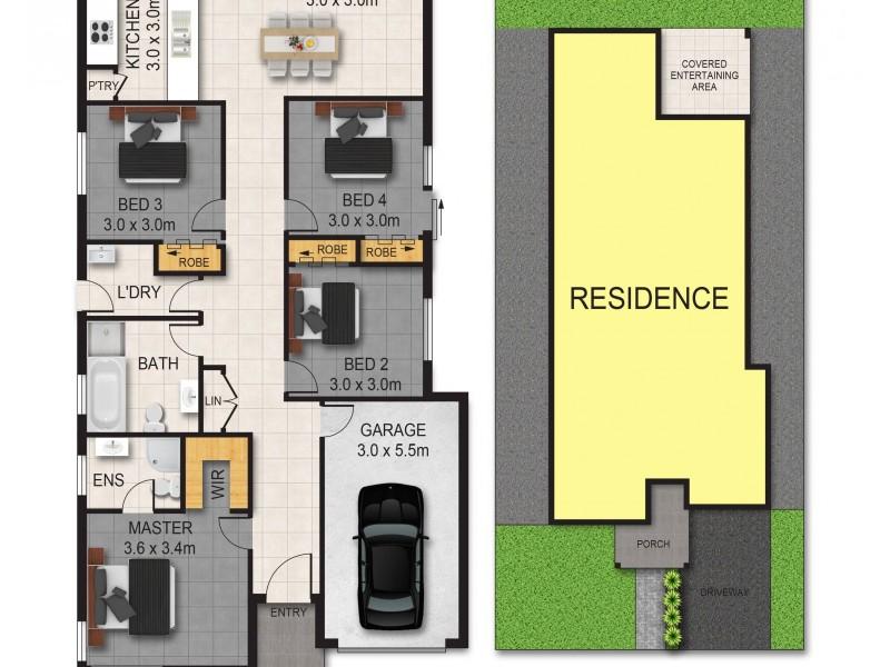 176 Princes Street, Riverstone NSW 2765 Floorplan