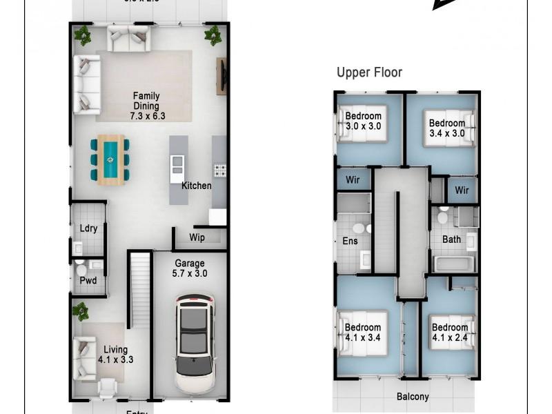 1/20 Riverstone Road, Riverstone NSW 2765 Floorplan