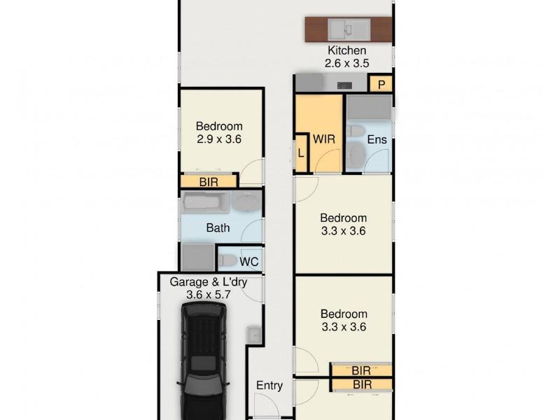 21 Gold Street, Riverstone NSW 2765 Floorplan