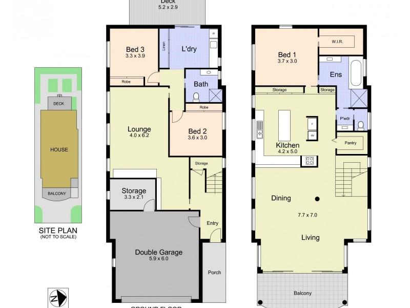 207 Mitchell Street, Stockton NSW 2295 Floorplan