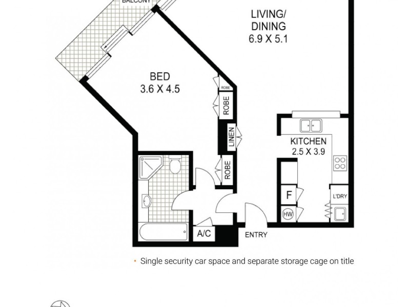 94/7 Macquarie Street, Sydney NSW 2000 Floorplan