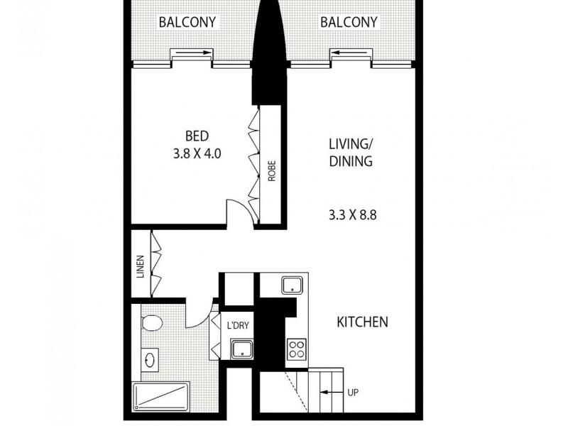 Level 7/20 Pelican Street, Surry Hills NSW 2010 Floorplan