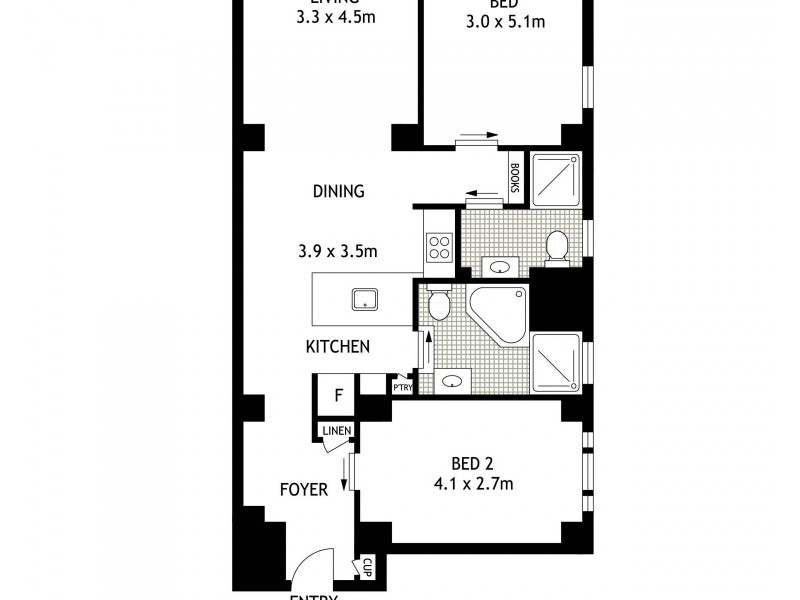 604/123-125 Macquarie Street, Sydney NSW 2000 Floorplan
