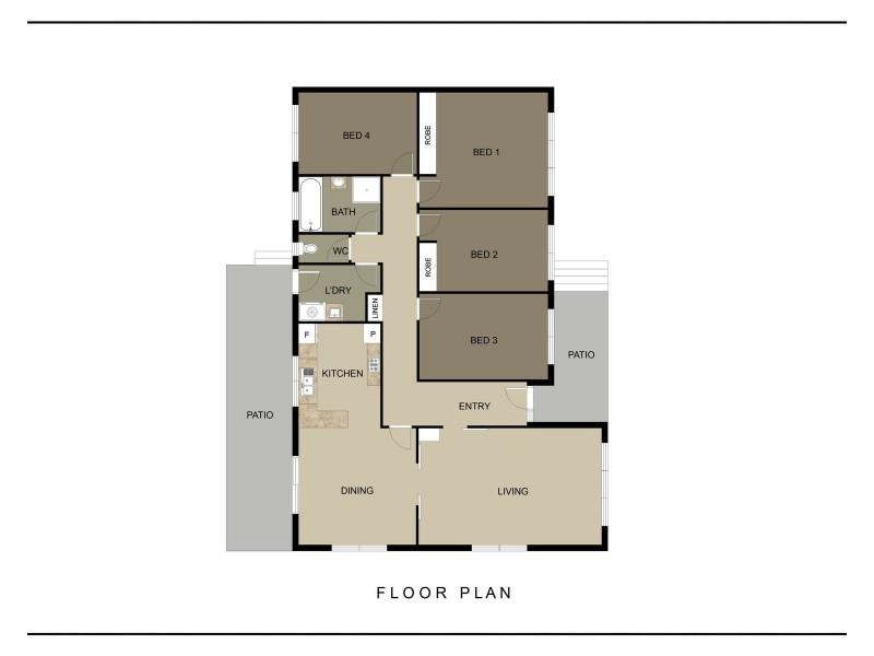 11 Osburn Drive, Macgregor ACT 2615 Floorplan