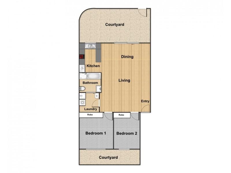 27B/54 Forbes Street, Turner ACT 2612 Floorplan