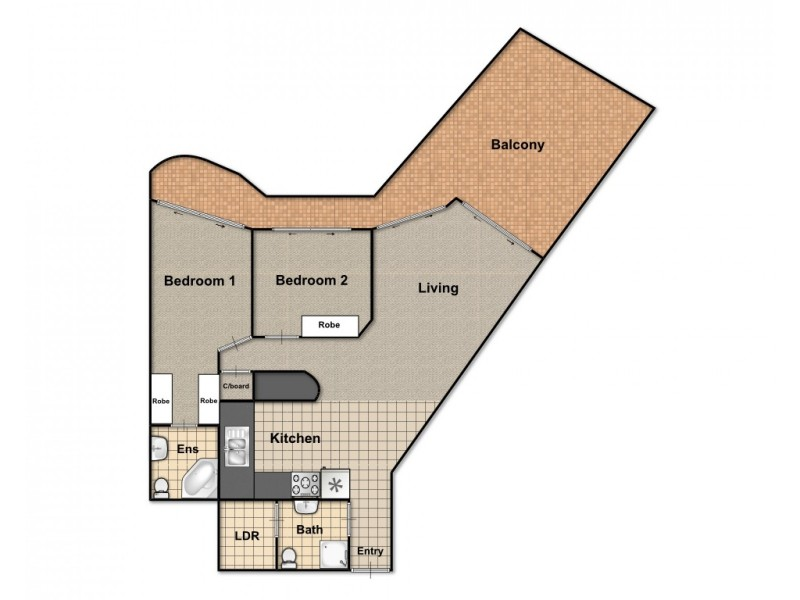 804/86 – 88 Northbourne Avenue, Braddon ACT 2612