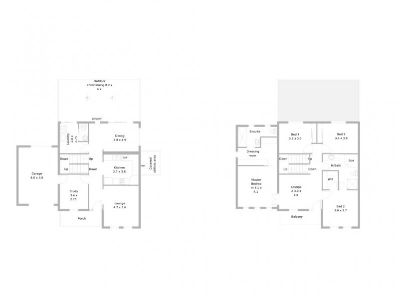 5 Gosling Court, Williamstown SA 5351 Floorplan