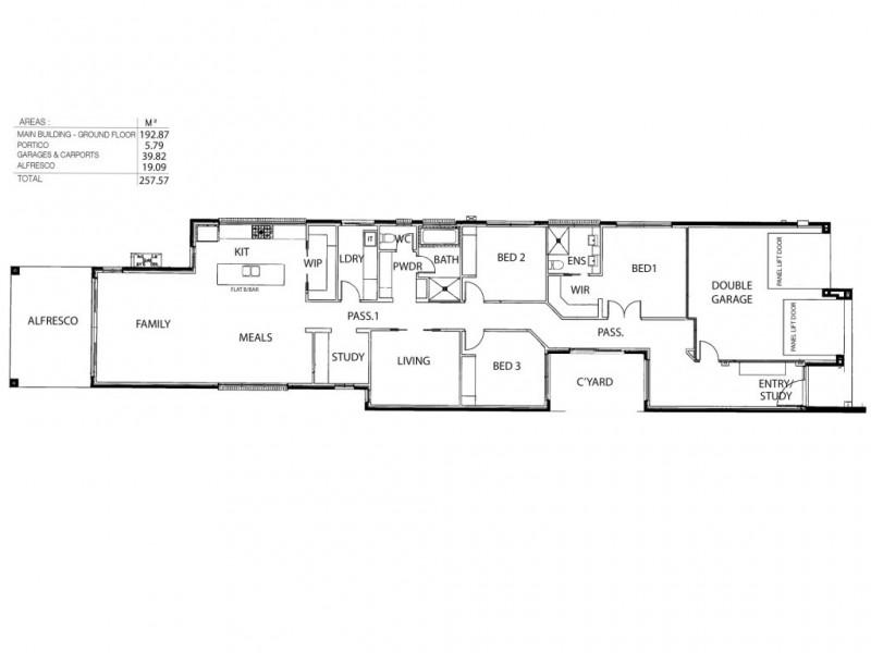 68 Ormond Ave, Daw Park SA 5041 Floorplan