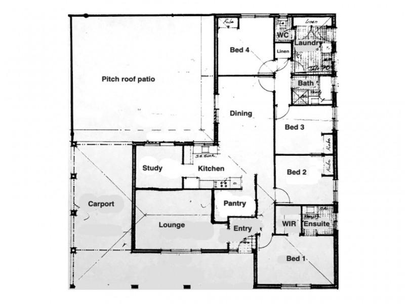 13 Jenark Road, Woorree WA 6530 Floorplan