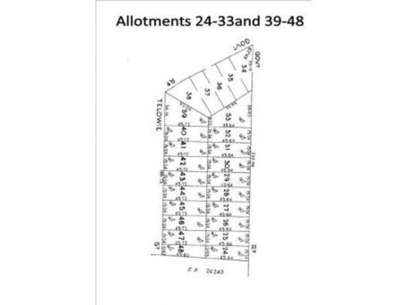 lot 40 Telowie st, Port Germein SA 5495