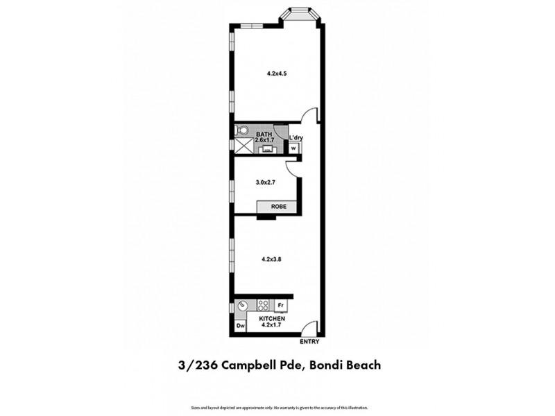 3/236 Campbell Parade, Bondi Beach NSW 2026