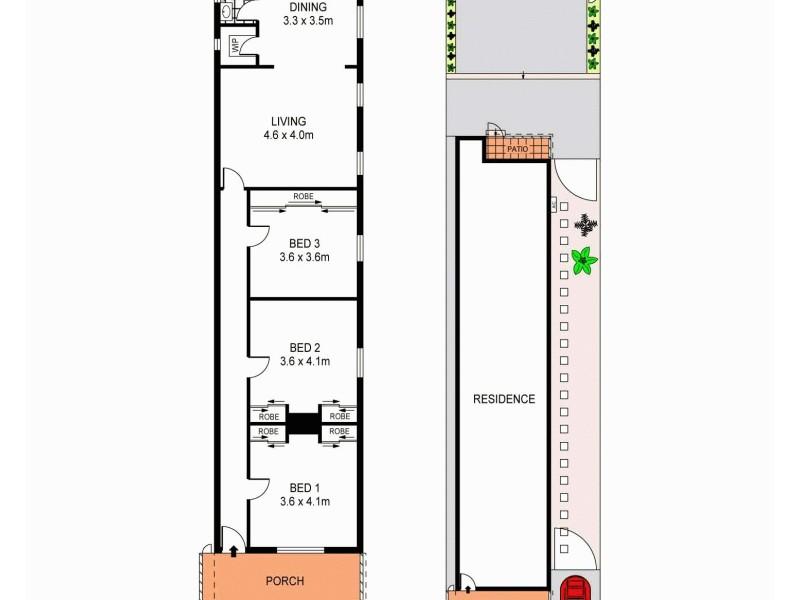 59 Renwick Street, Marrickville NSW 2204 Floorplan