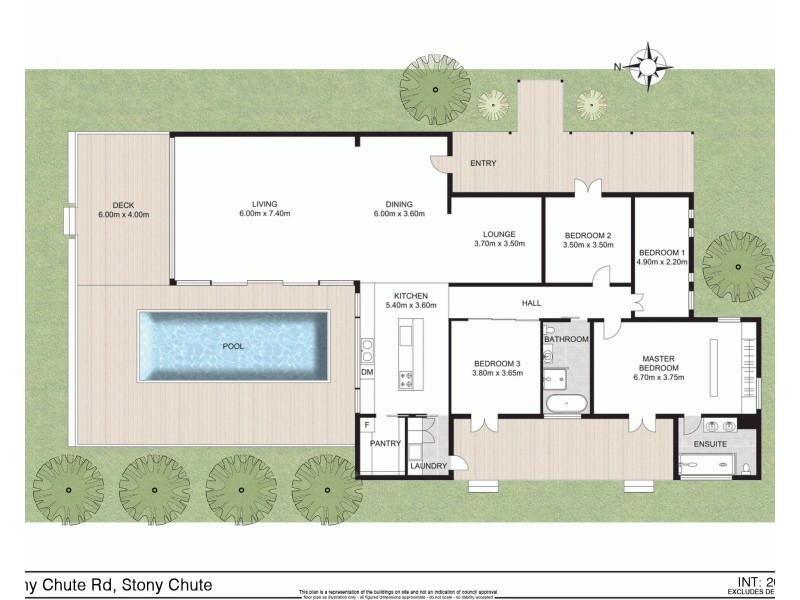 119 Stanger Rd, Stony Chute NSW 2480 Floorplan