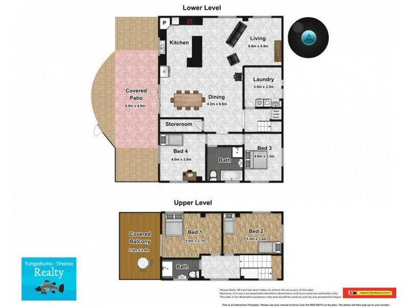 9 Kluck Rd, Barrine QLD 4872 Floorplan