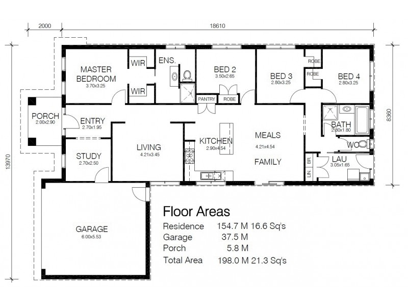 52 Langley, Lang Lang VIC 3984 Floorplan