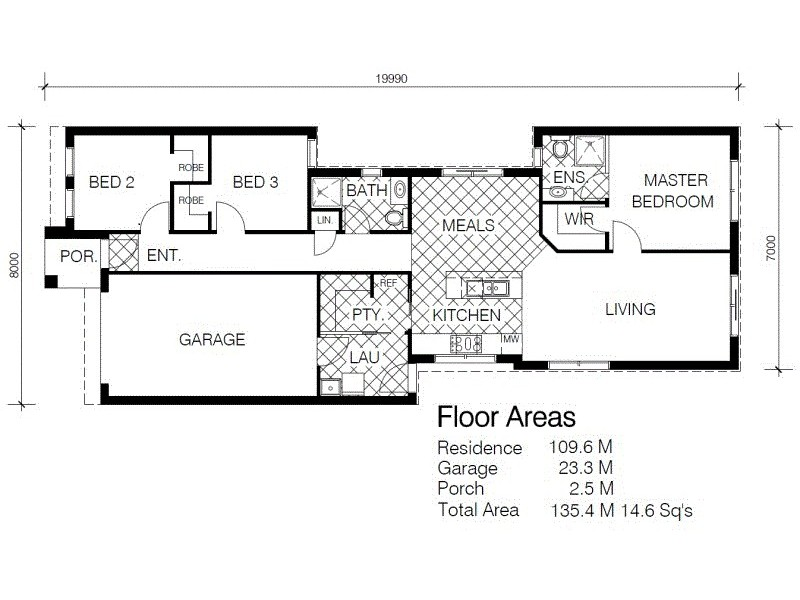 31 Gardenia Lane, Beaconsfield VIC 3807 Floorplan