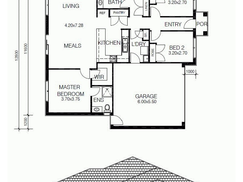 LOT 5 HAMILTON STREET, Corinella VIC 3984 Floorplan