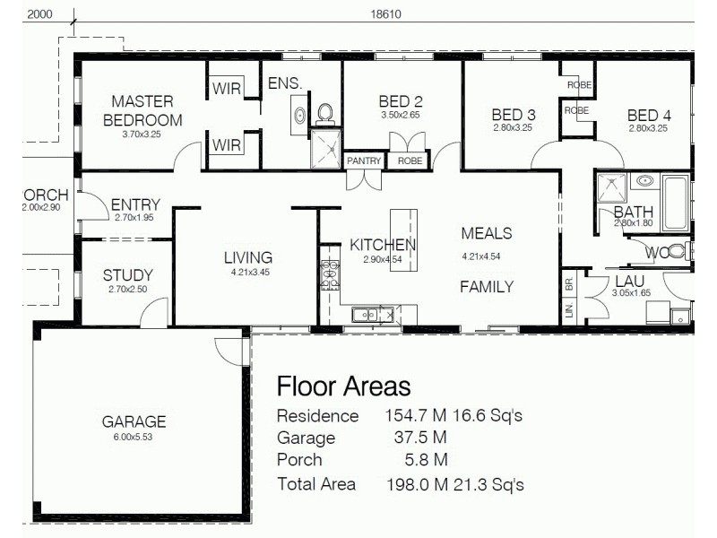 LOT 618 BONA VISTA, Clyde VIC 3978 Floorplan