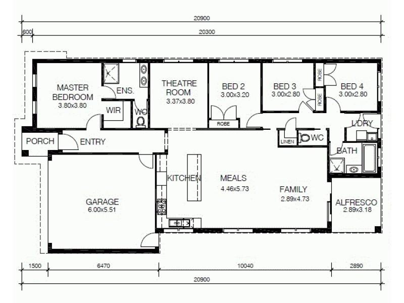 LOT 218 NEST CIRCUIT, Cranbourne East VIC 3977 Floorplan
