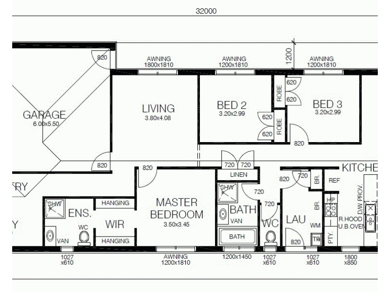 LOT 437 BERNARDINS STREET, Clyde North VIC 3978 Floorplan