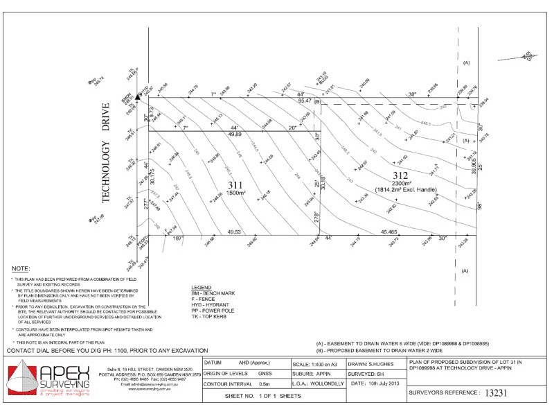 15 Technoology  Drive, Appin NSW 2560 Floorplan