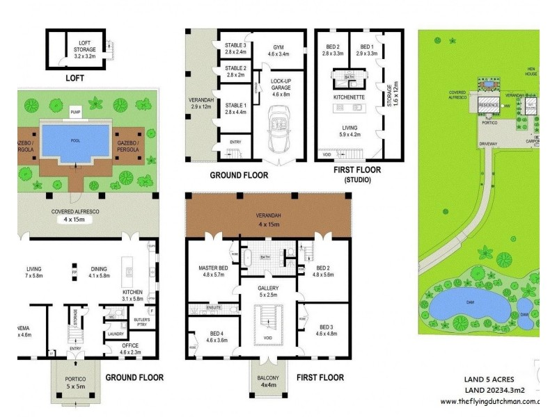 18 Amaroo Place, Cooroibah QLD 4565 Floorplan