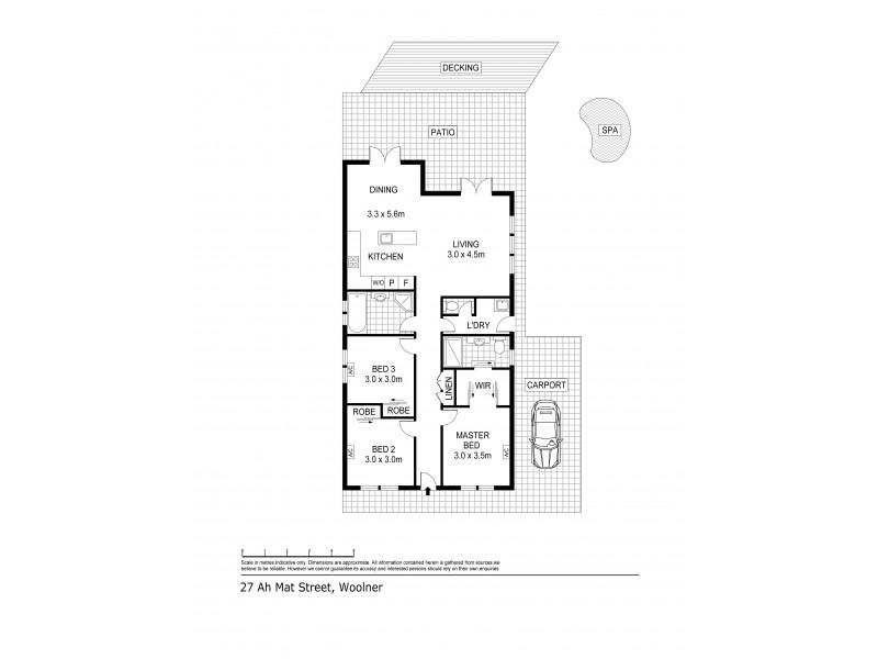 27 Ah Mat Street, Woolner NT 0820 Floorplan