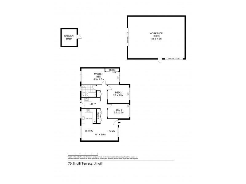 70 Jingili Terrace, Jingili NT 0810 Floorplan