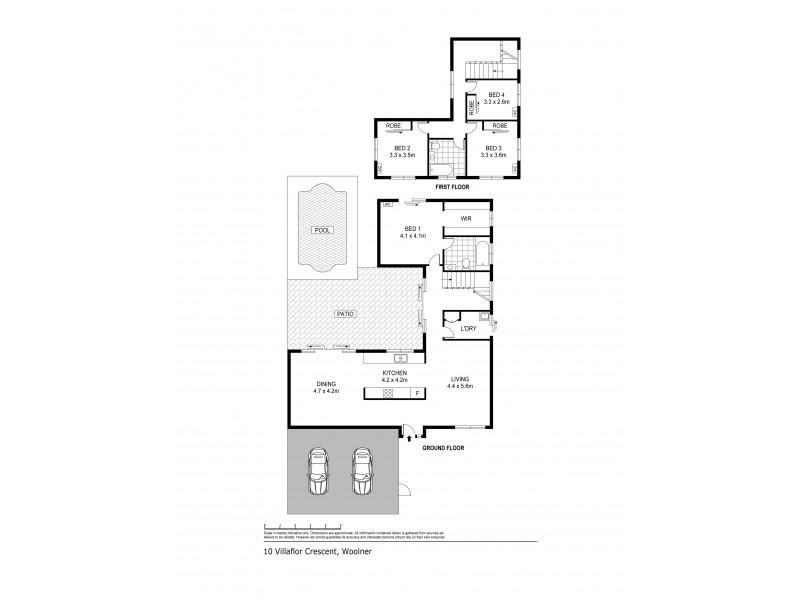 10 Villaflor Crescent, Woolner NT 0820 Floorplan