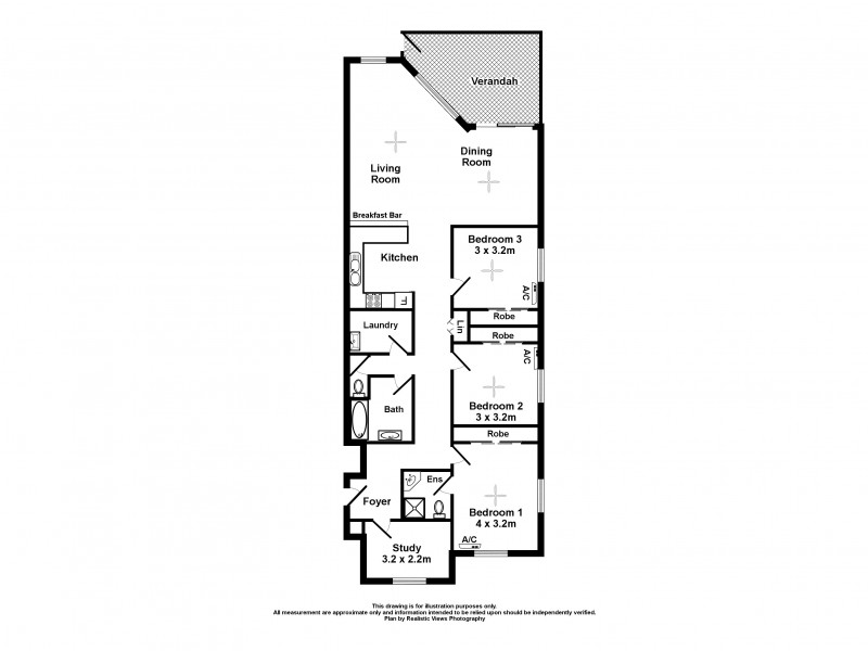 1/296 Casuarina Drive, Rapid Creek NT 0810 Floorplan