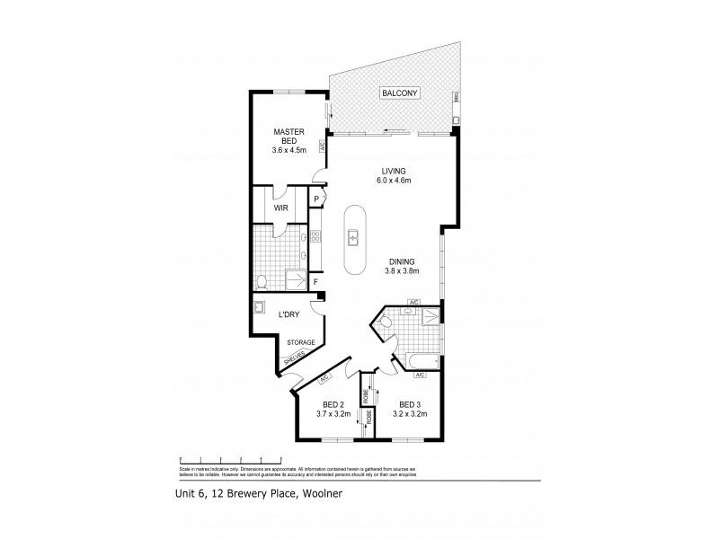 6/12 Brewery Place, Woolner NT 0820 Floorplan