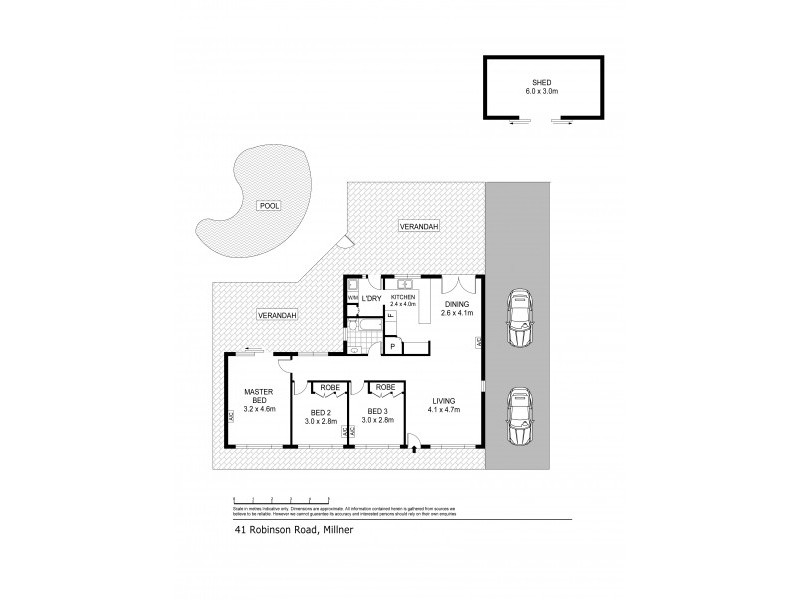 41 Robinson Road, Millner NT 0810 Floorplan