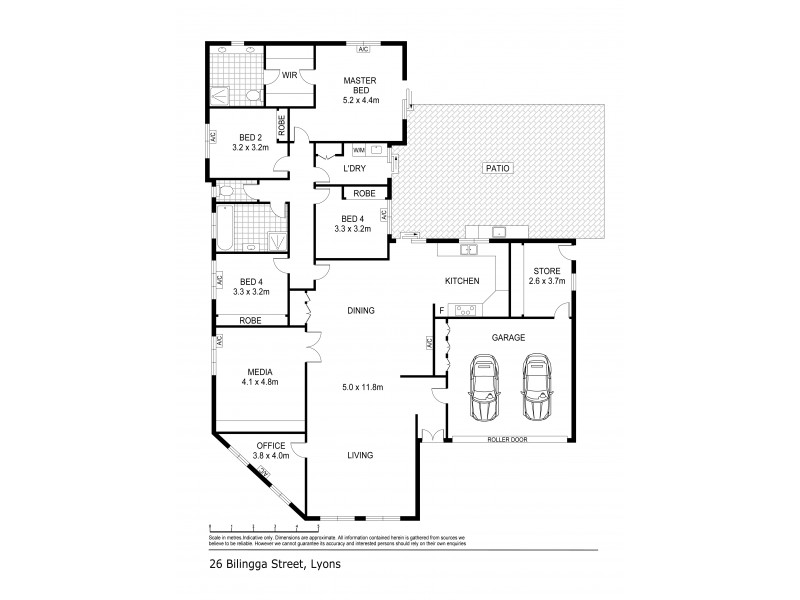 26 Bilingga Street, Lyons NT 0810 Floorplan