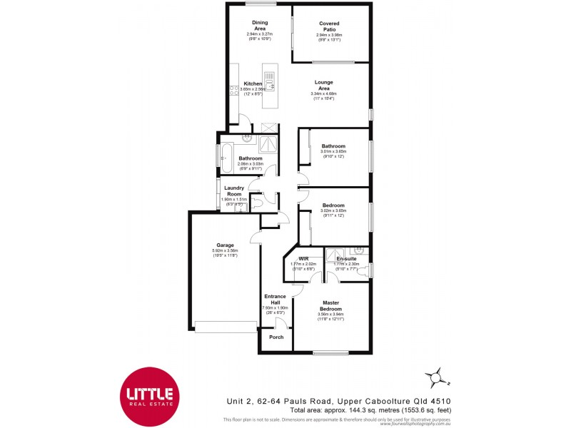 2/62-64 Pauls Road, Upper Caboolture QLD 4510 Floorplan