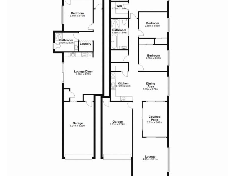 1&2/85 Kinsellas Road West, Mango Hill QLD 4509 Floorplan