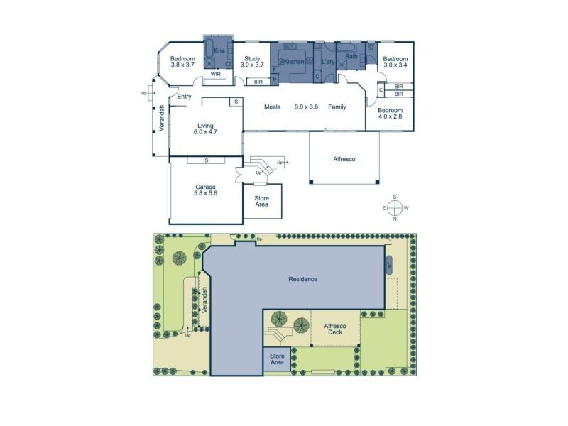 166 Heatherdale Road, Vermont VIC 3133 Floorplan