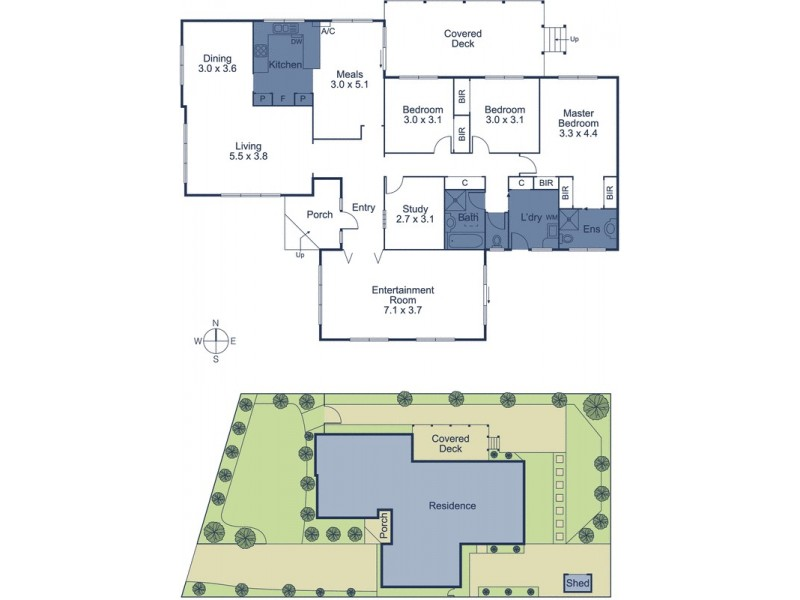 48 Philip Street, Vermont VIC 3133 Floorplan