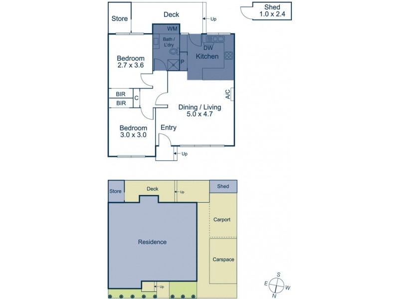 9/513 Mitcham Road, Vermont VIC 3133 Floorplan