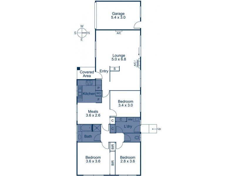 54 Tilson Drive, Vermont VIC 3133 Floorplan
