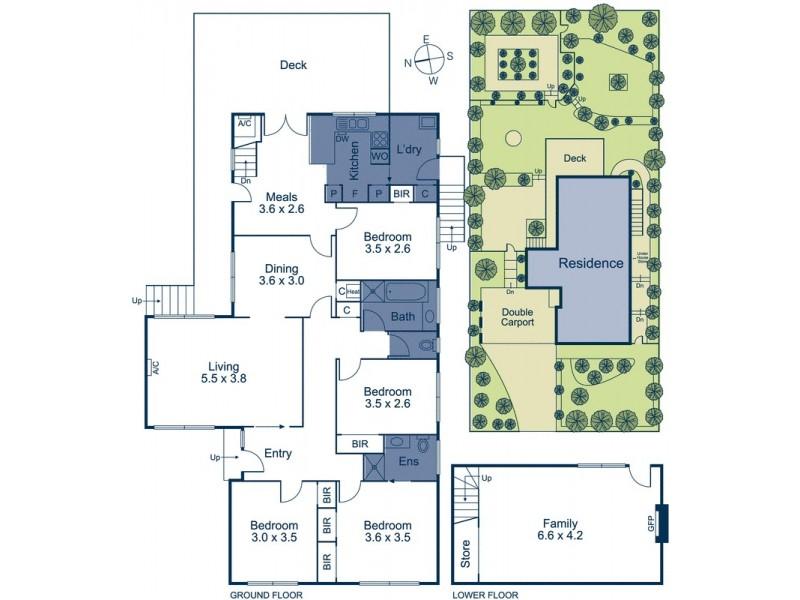 27 Baird Street, Doncaster VIC 3108 Floorplan