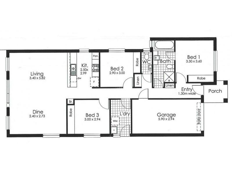 21 Buckley Street, Davoren Park SA 5113 Floorplan