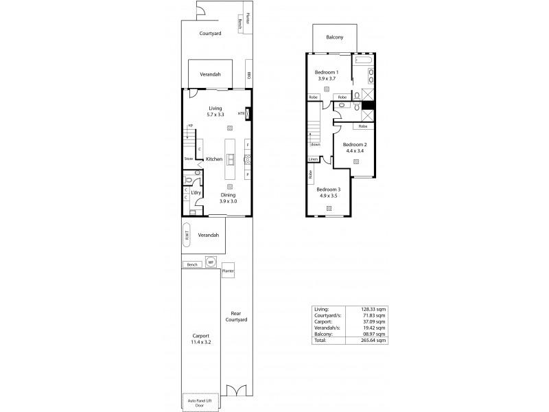 16 Pilla Avenue, New Port SA 5015 Floorplan