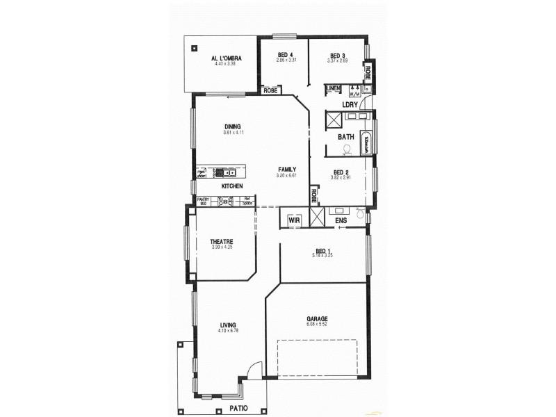 24/ Lot 3103 Plymouth Boulevard, Spring Farm NSW 2570 Floorplan
